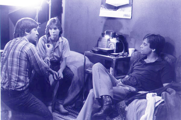 Maxwell with Mark Hamill and Kristy McNichol
